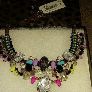 Betsy Johnson Skull and lace stones